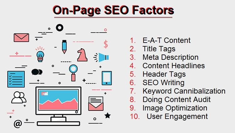 I will do high quality on page optimize sothat top rank in your site