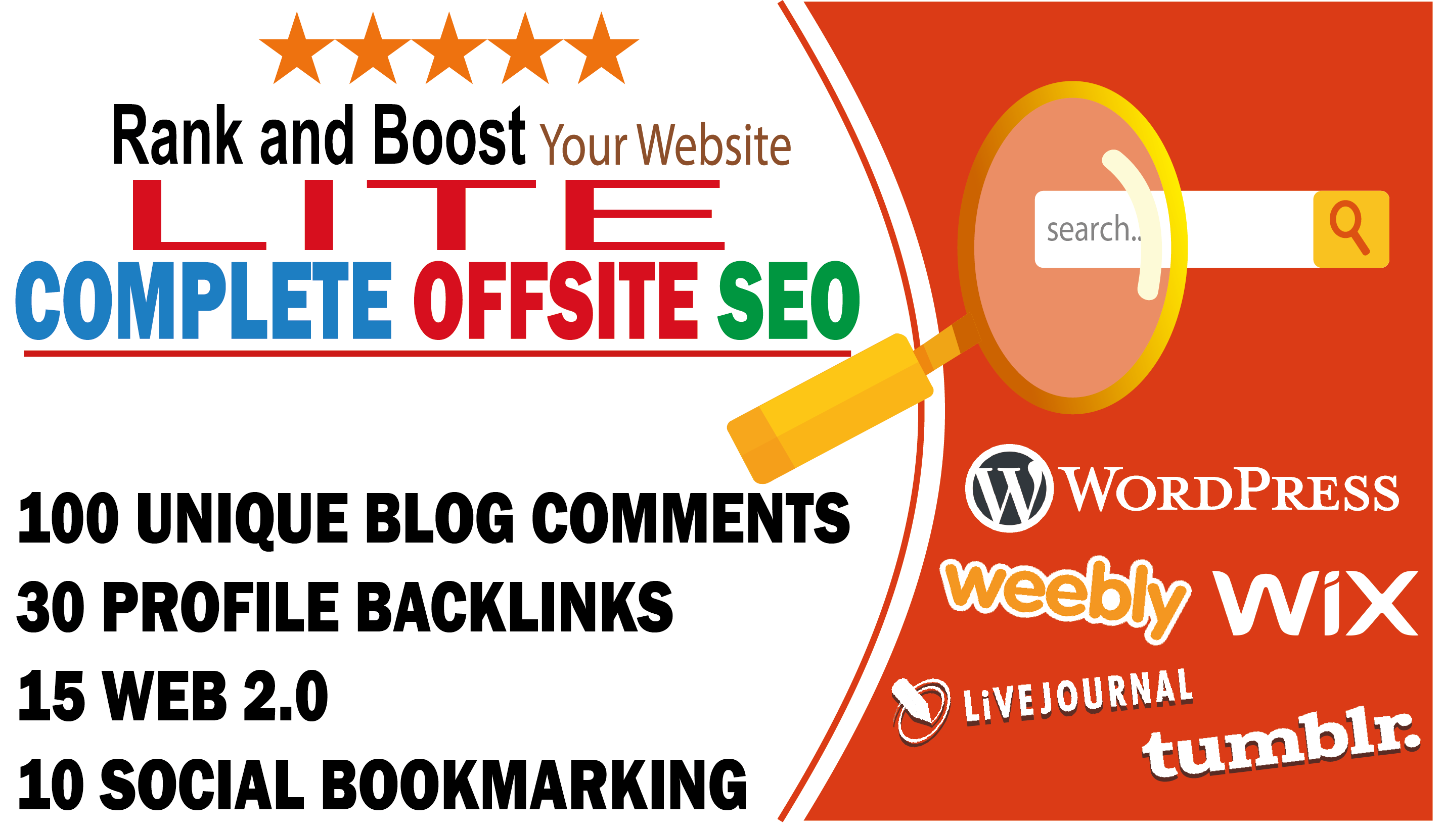 Complete seo lite to rank your business