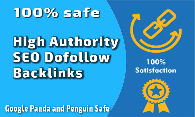 i will Do 100 SEO dofollow backlinks high DA PA fast rank your website