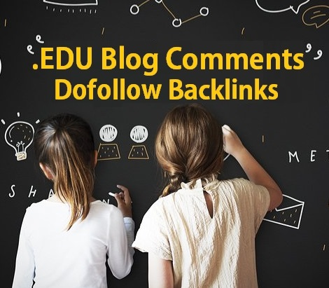 6 EDU Manually Dofollow High Authority Blog Comments Backlinks