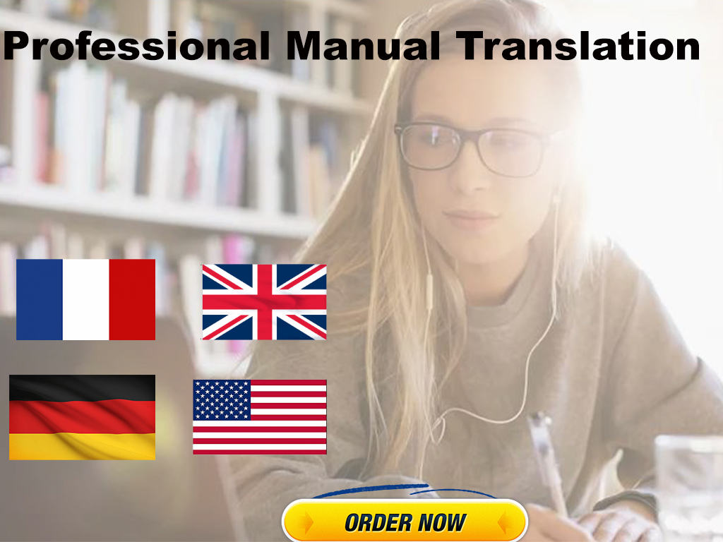 I will professionally translate from english to german or France