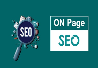 I will do on page optimization with yoast seo