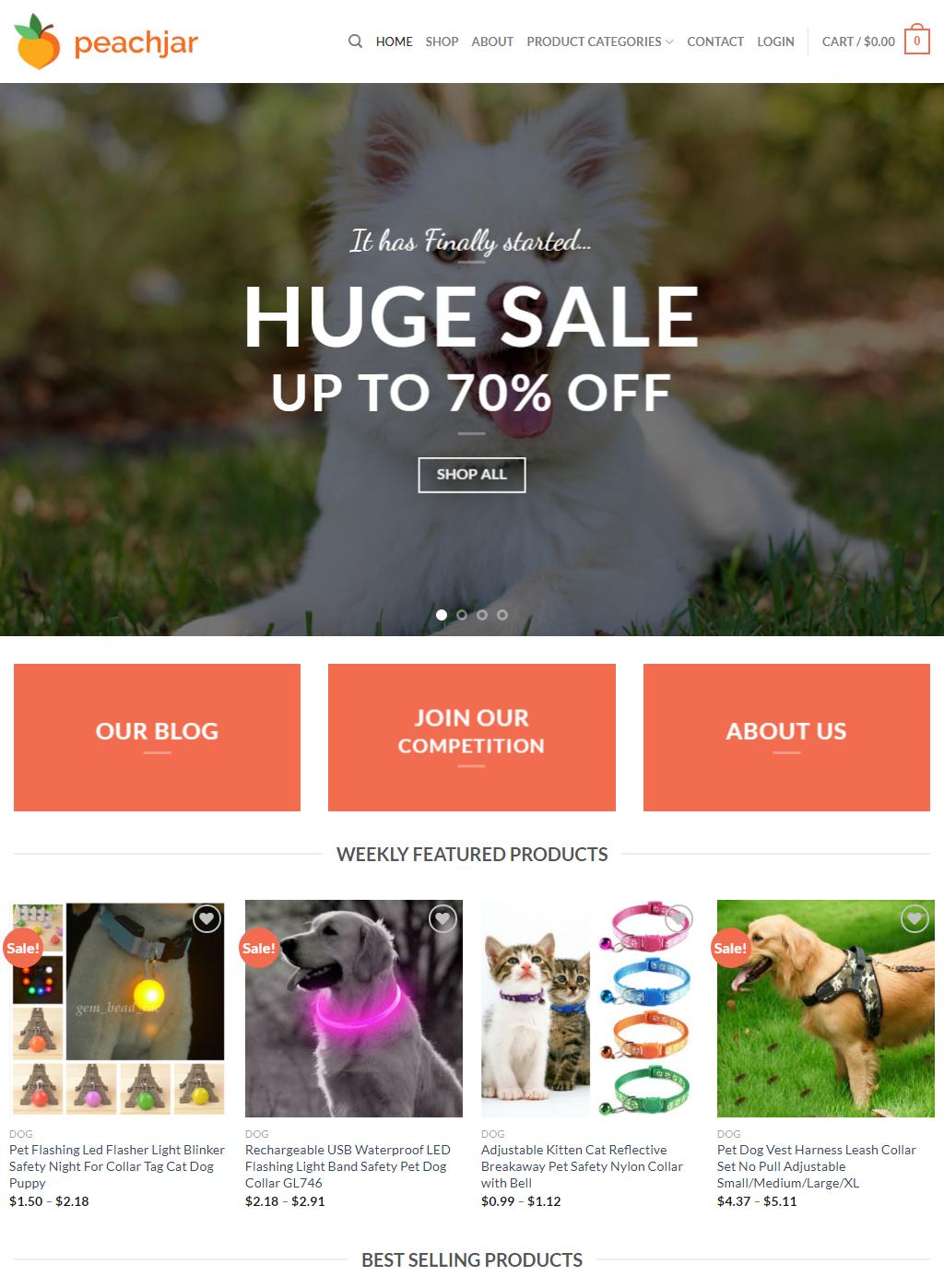create ecommerce website using woocommerce in wordpress