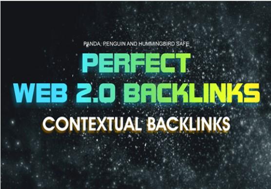 Create 10 High Quality Web 2.0 blogs,  contextual backlinks