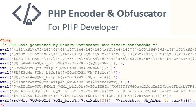 PHP Encoder & Obfuscator files