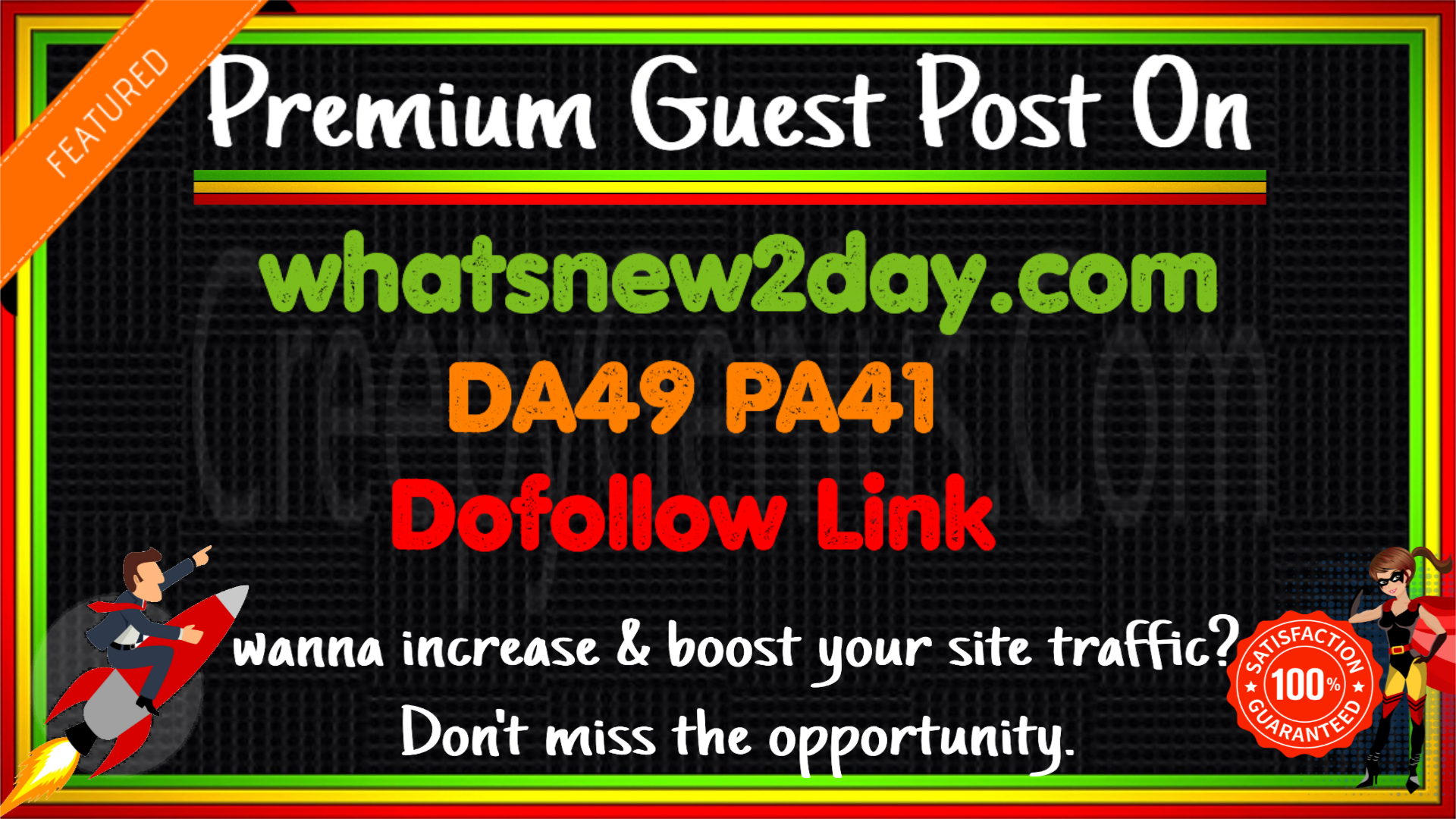 Write & Publish A Guest Post On Whatsnew2day DA49 PA41