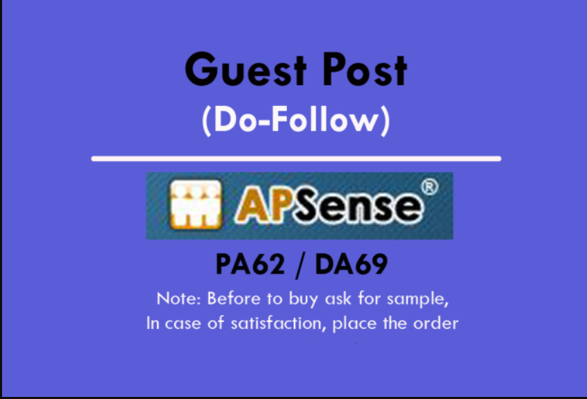 Write & Publish Guest Blog On Apsense DA65 with Dofollow Backlinks