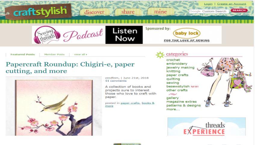 Write & Publish Guest Post On Craftstylish DA58 Blog