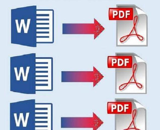 Convert from Word to PDF and from pdf to word and Excel