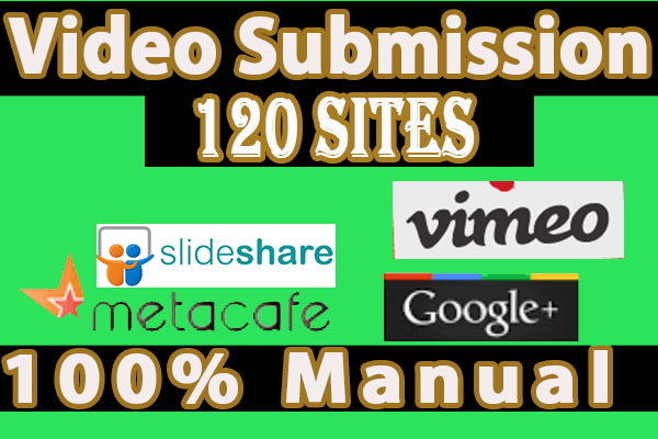 Upload your Video on 120 Video Sharing Sites Manually