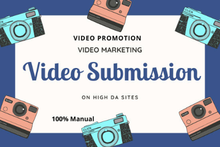 Manual Submission Of Video On 120 Top Sharing Sites