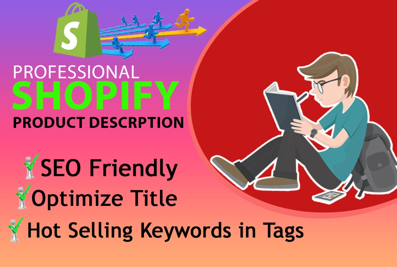 Get 50 Shopify Product Description Killer SEO Title and Tags