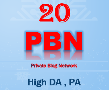 Get 20 Home Page Do follow PBN Backlinks High DA PA