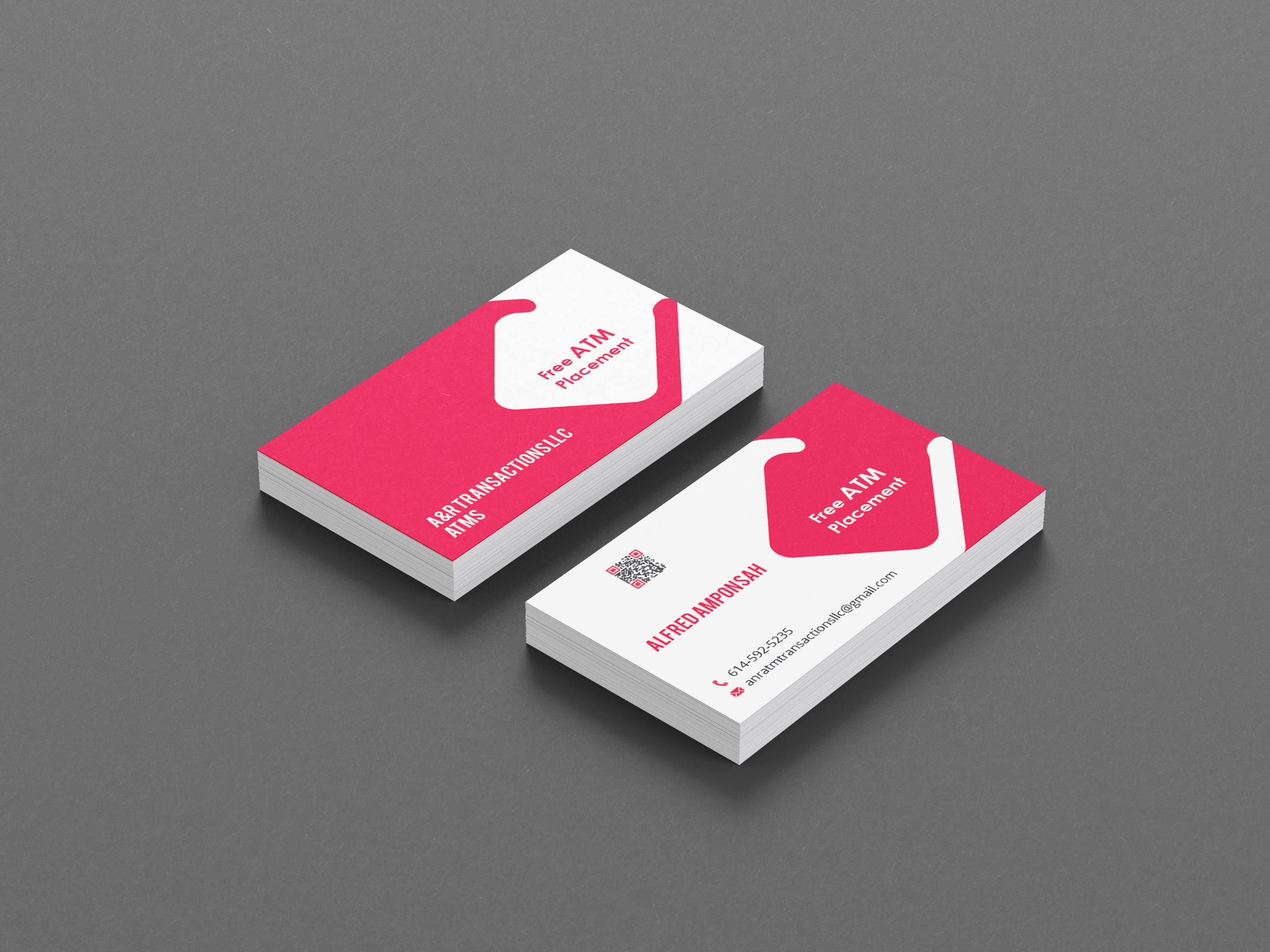 Professional and Modern Business Card Design