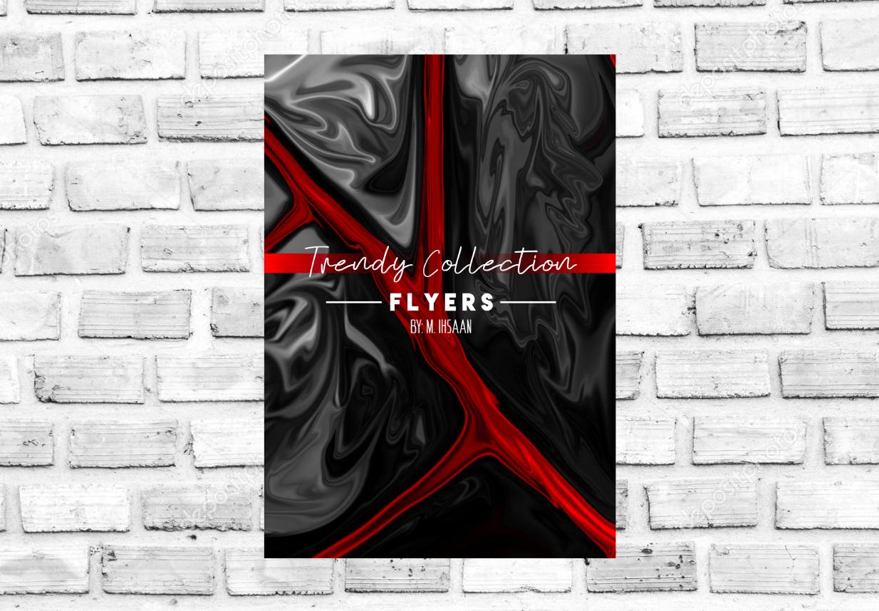 DESIGN TRENDY FLYERS OF ANY TYPE