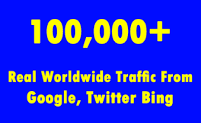 Send 100,000 Traffic Website From Twitter Instagram linkedin youtube