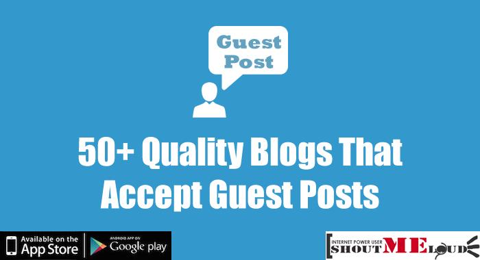 I will guest post da 90 tech blog