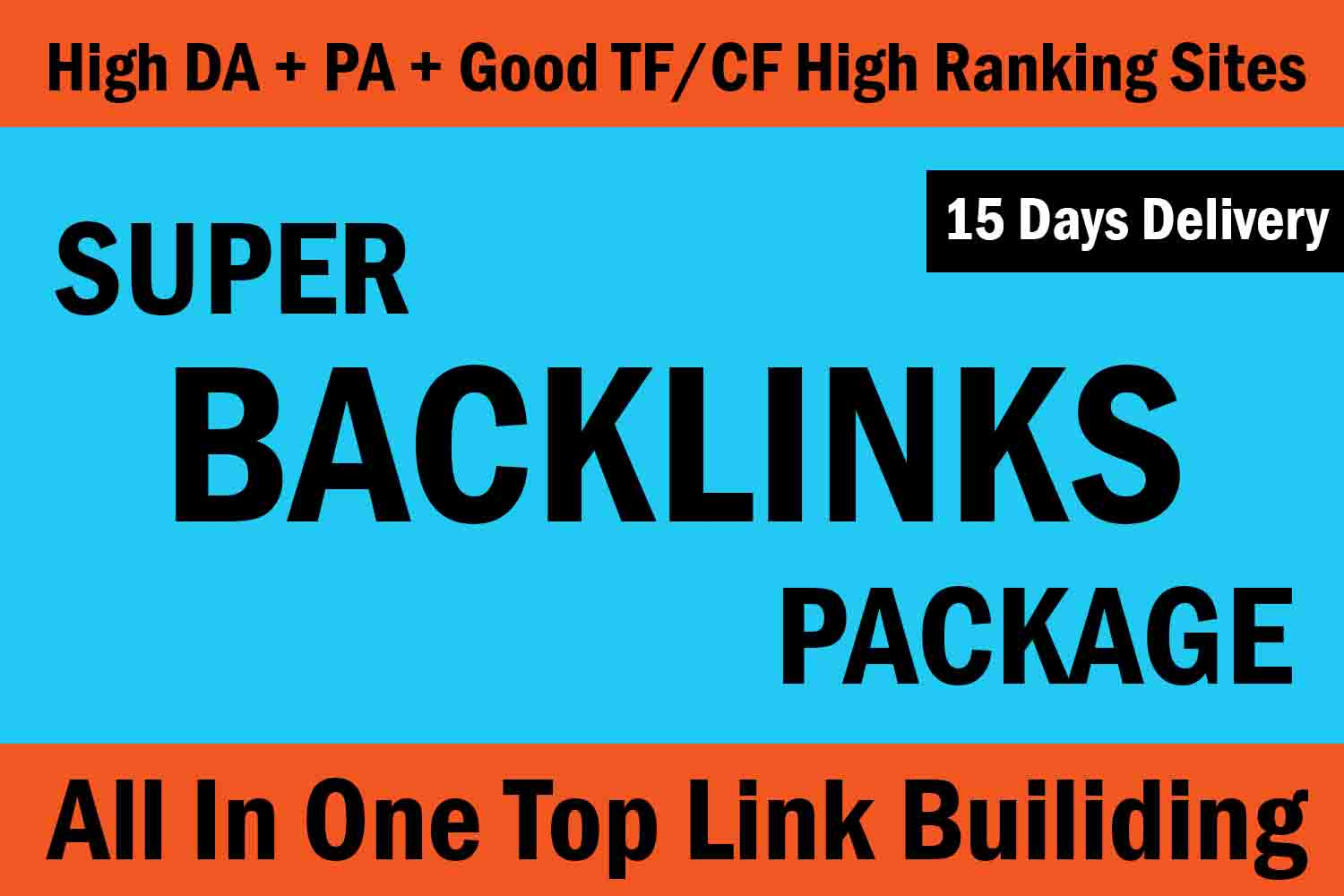 Explode Your Website Ranking On Google by 15 Days White Hat SEO Backlinks Package Now Only