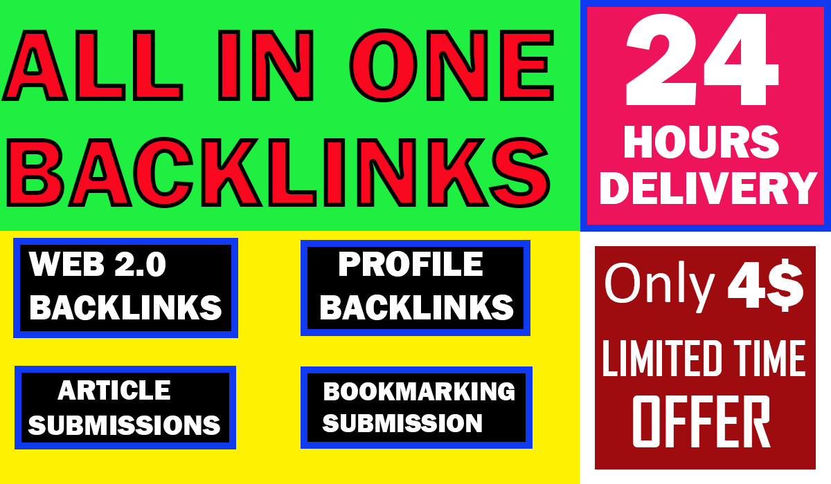 GET 45-PR9 MANUALLY CREATE DOFOLLOW BACKLINKS-ALL IN ONE PACKAGE-LIMITED TIME OFFER NOW ONLY