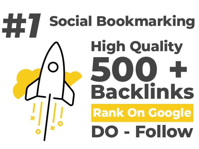 I will submit website URL to 500 High quality social bookmarking sites