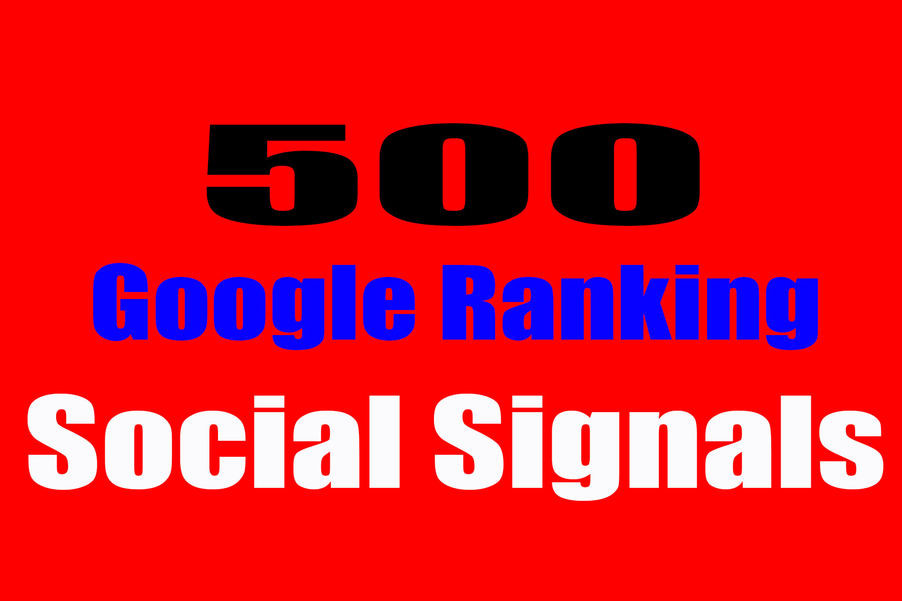 Google Ranking webstie seo backlinks 500 social signals