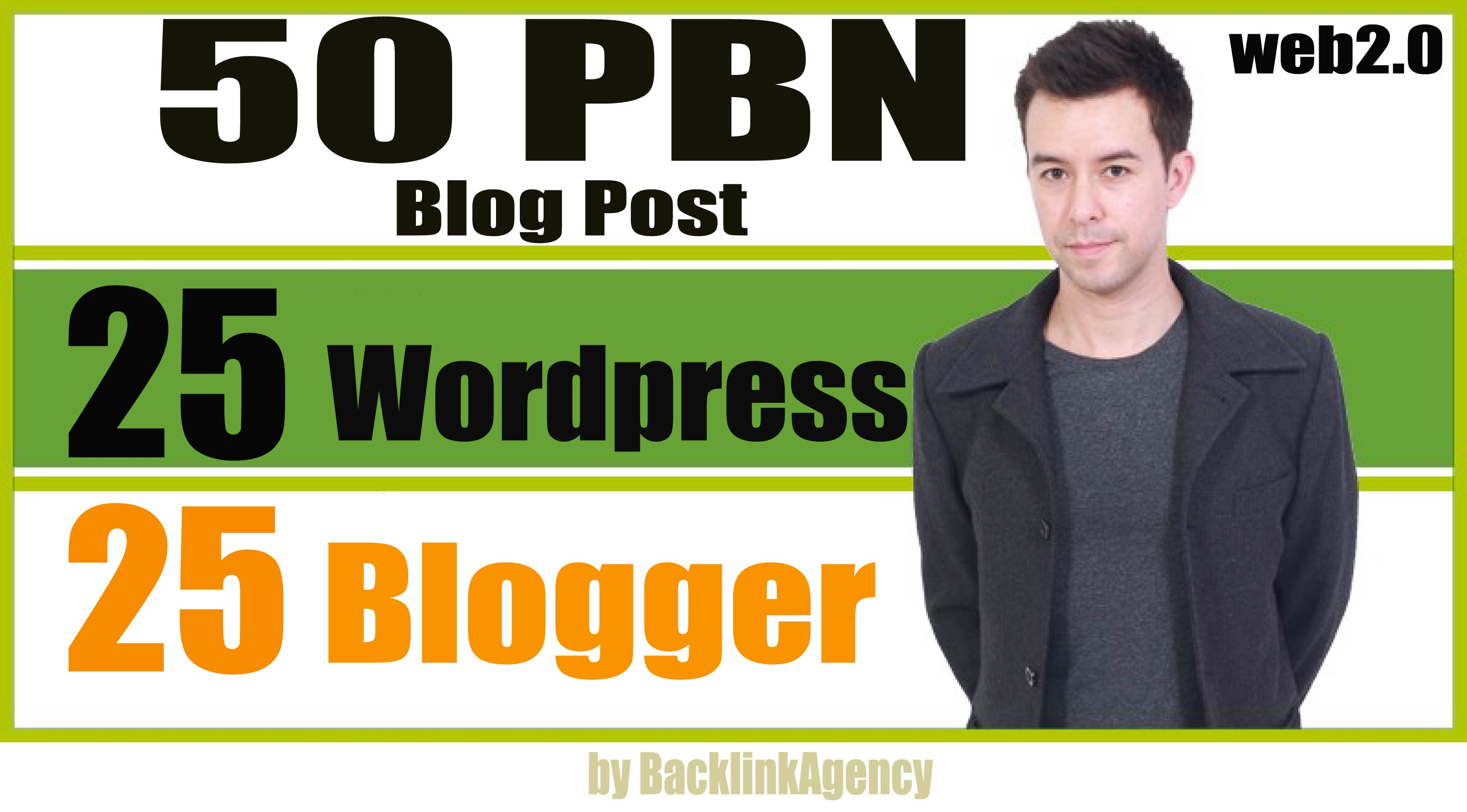 50 PBN POSTs - Backlinks Wordpress And Blogger With High DA Permanent Post