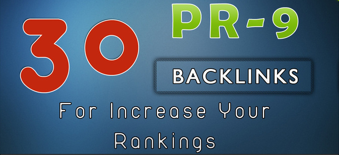 30 Pr9 Backlinks Authority Backlinks