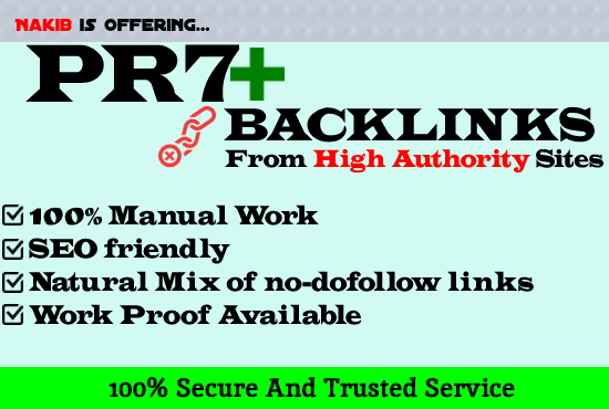 20+ White Hat SEO Backlinks Link Building in High Authority Websites