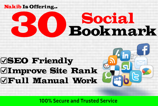 30 Social Bookmarking Backlinks For Your Money Site Full Manual Job