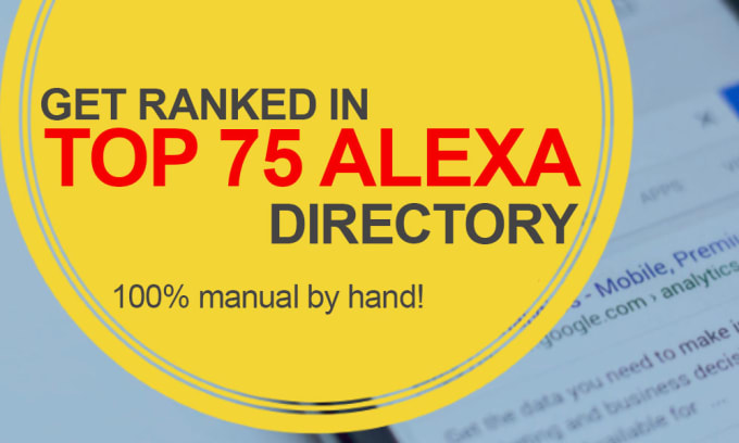 Provide 75 Manual Directory submission backlinks with report