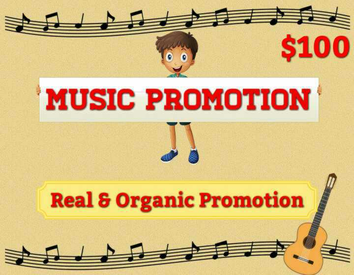 I'll Do HQ Music Promotion For You