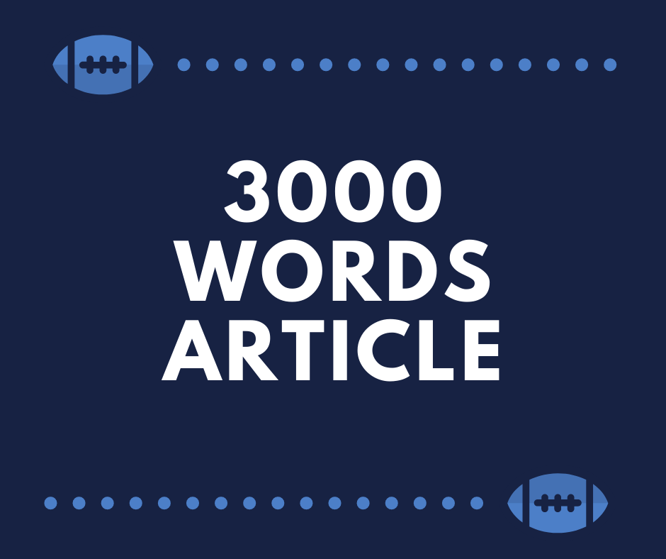 I will write 3000 words content/ article/ blogpost