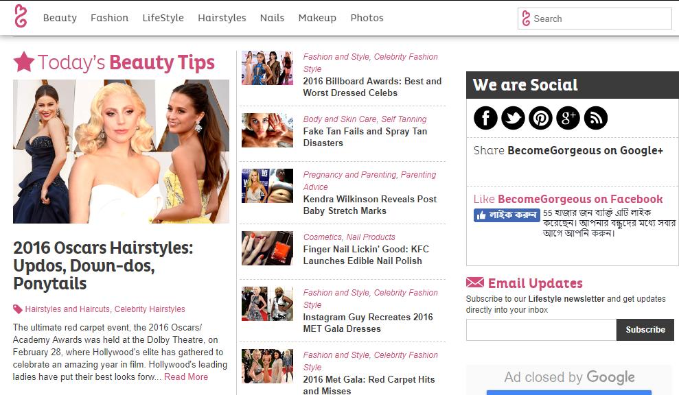 Write & Publish On My Fashion & Beauty Blog DA-62