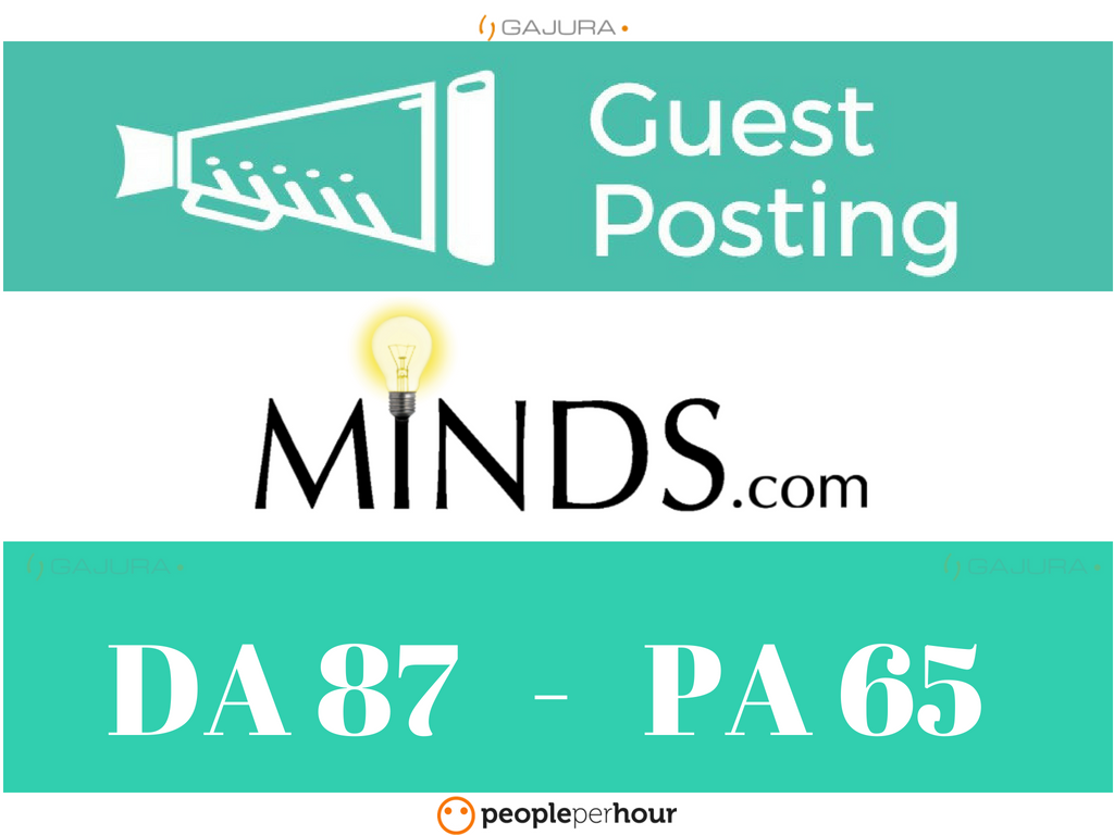 Write And Publish a Guest Post on Minds DA 87