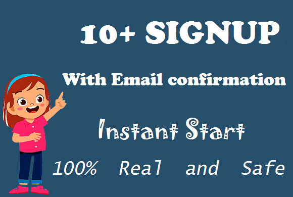 10+ Real Signup with email confirmation