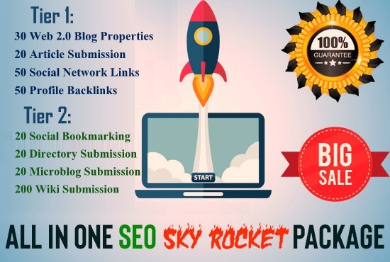 Manually All In One Premium SEO Service - Skyrocket Package