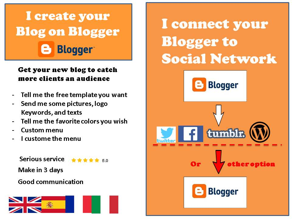 create a super blog on blogger