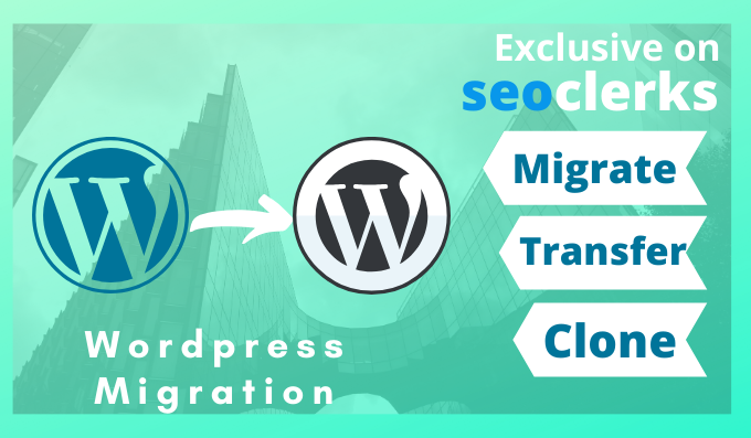 I will migrate, copy, move wordpress website from one hosting to another hosting