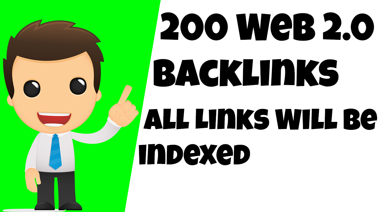 High Quality Web 2.0 Backlink With 100 Index Guarantee