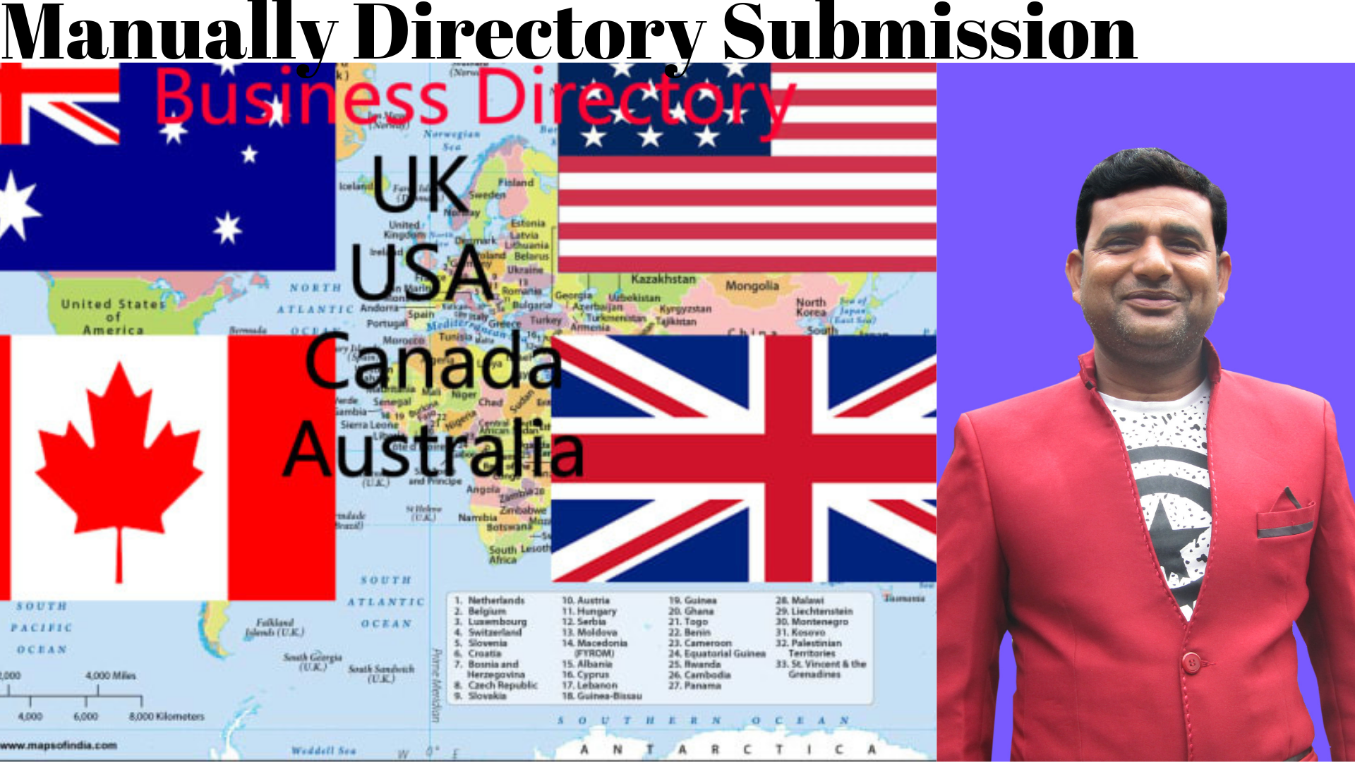 I Can Do Manually Directory Submission And Forum Posting With High Da PR Only