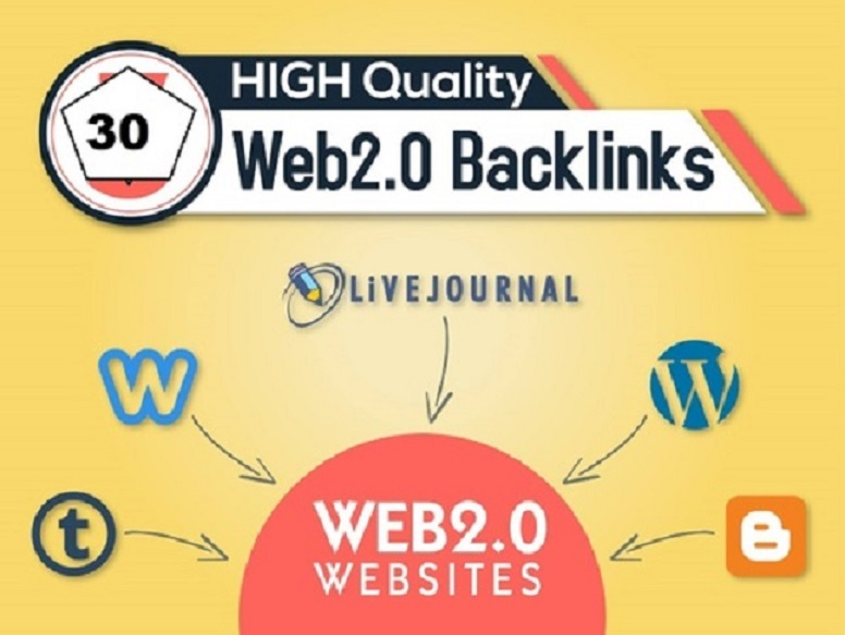 I do create 20 Super WEB 2.0 Blogs With High Domain Authority Up To 80-100