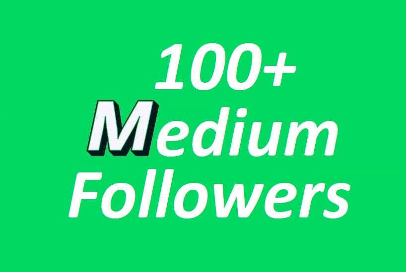 Get you 100 Promote Medium follow Your profile