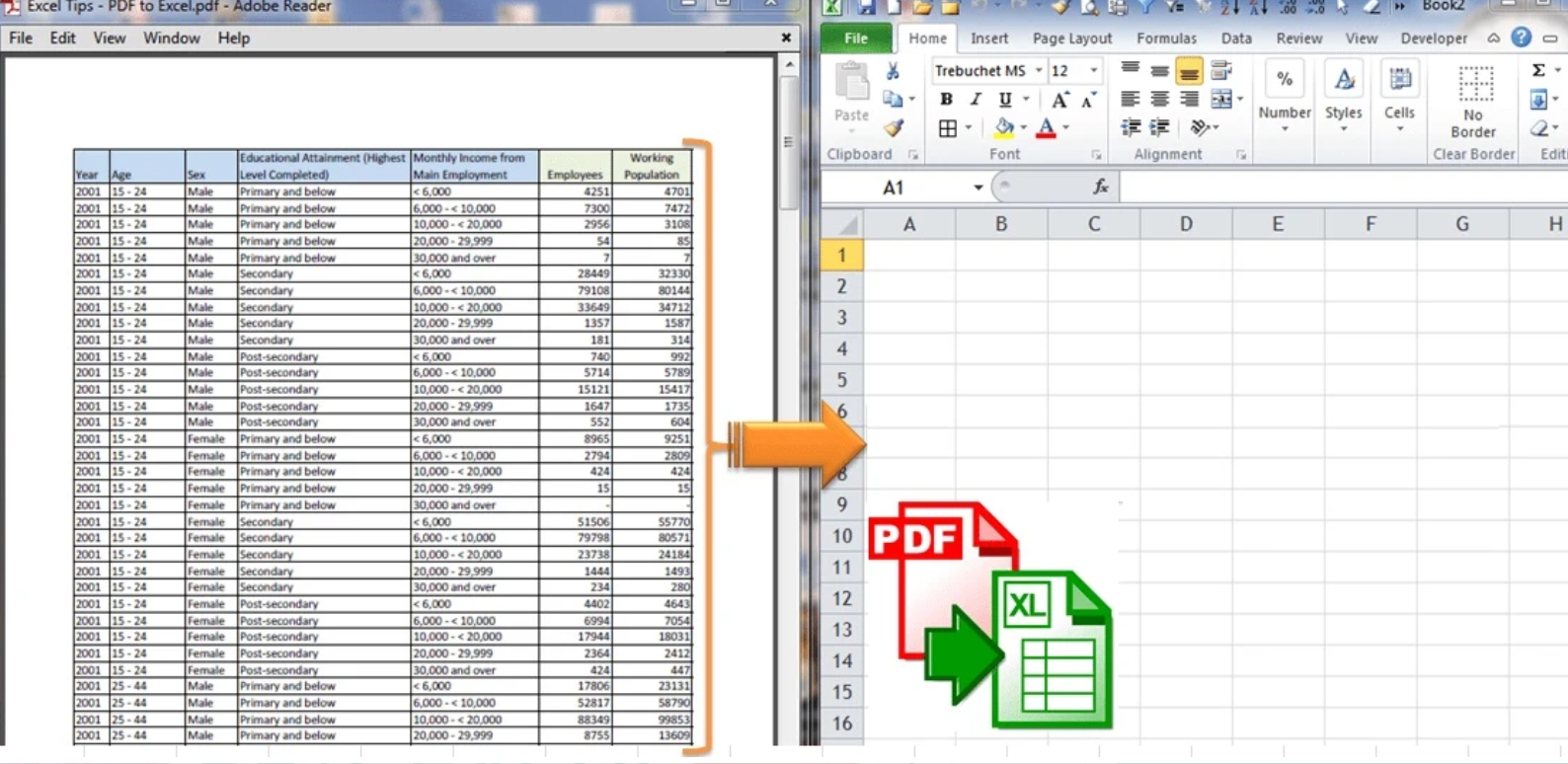 Vrtual assistant for excel data entry