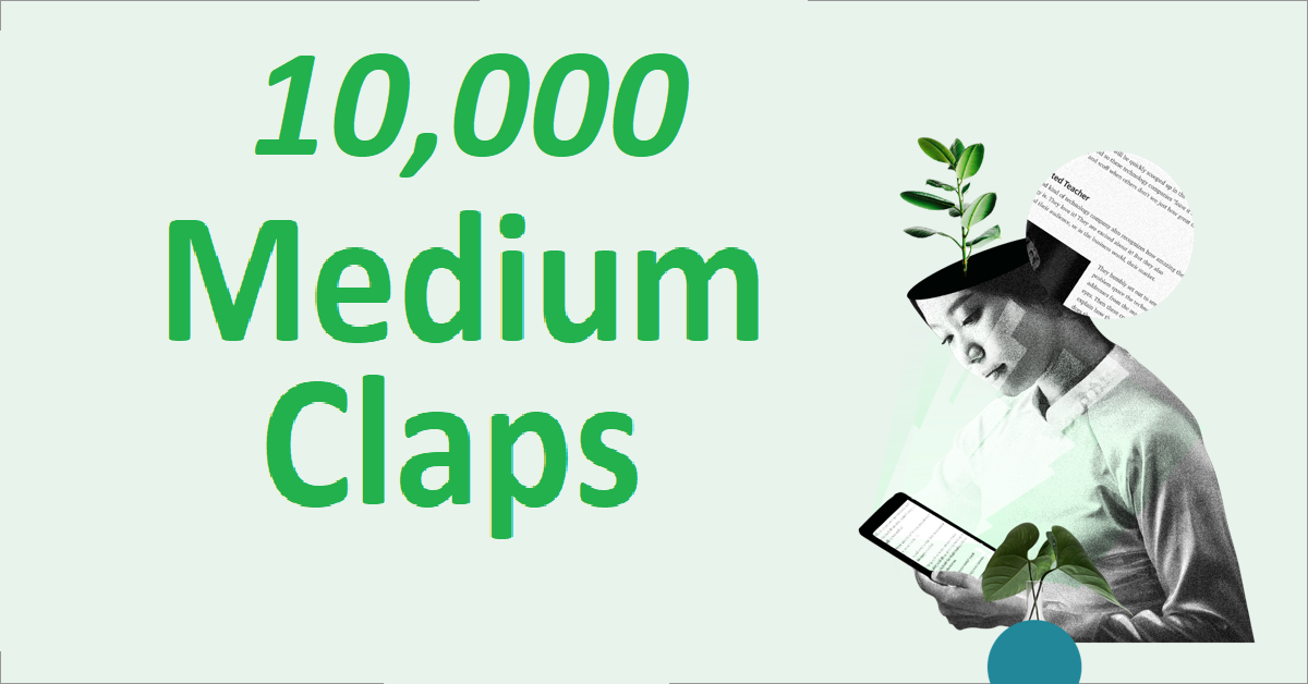 Give you 10,000+ Random USA Excellent Medium Claps To Your Article