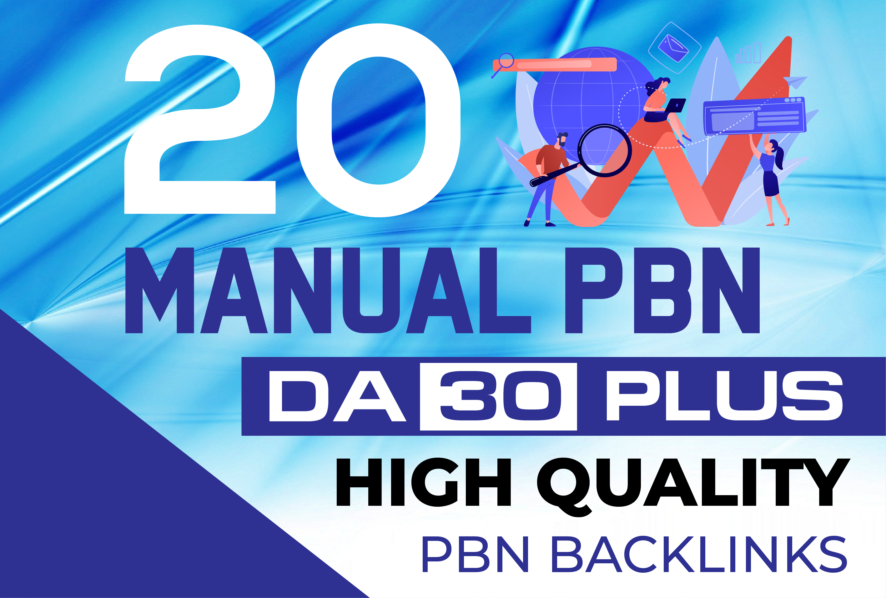 Do 20 Homepage PBN UNIQUE PBN Backlinks On High DA 30 +