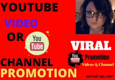 Best YouTube video promotion & social marketing very fast delivery