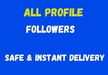 All social media marketing instant delivery