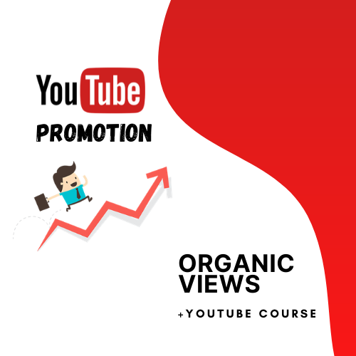 Organic Youtube Promotion With HQ Traffic Sources