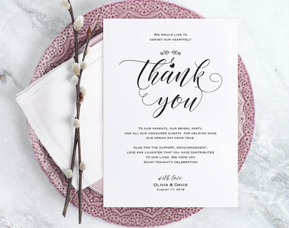 Wedding Invitation Template Services