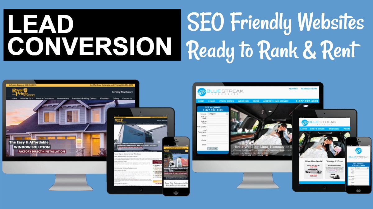 Local Lead Generation Website Builder - Rank & Rent Websites